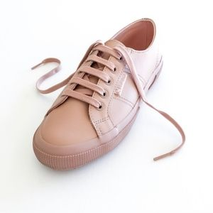 Superga Blush Leather Low Top Sneakers 8.5